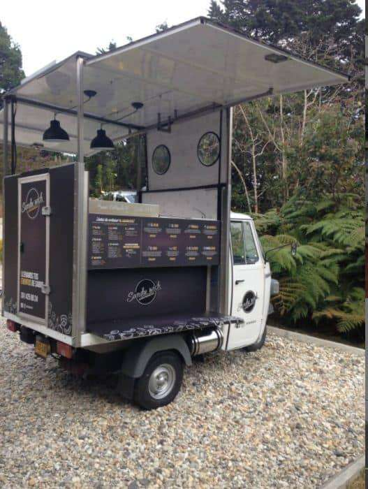 Mini Food Truck Expansible Piaggio