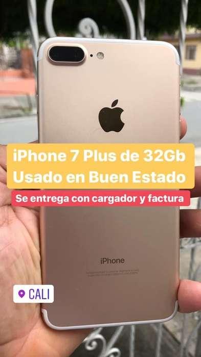 i Phone 7 Plus de 32GB Usado