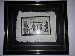Cuadros de Papiros Ejipsios Los 3 Juntos