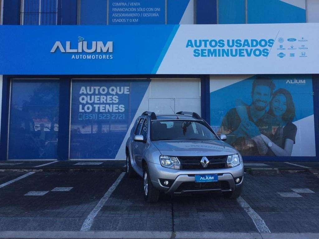 Renault Duster 1.6 Privilege 4x2 2017 Entrega 257.500 y cuotas! Solo DNI