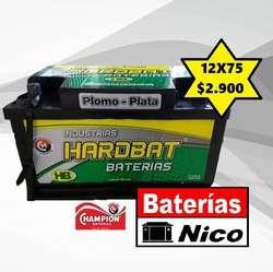 BATERÍA HB-CHAMPION 12X75 (OFERTA)