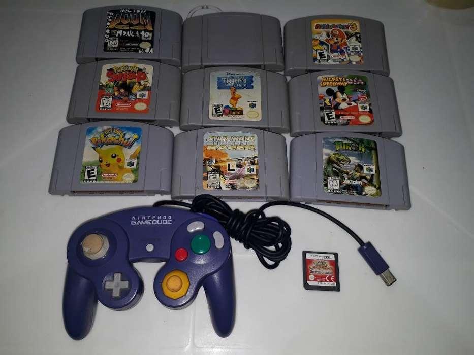 Juegos Nintendo 64 Gamecube Control Ds