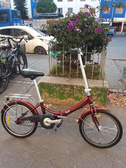 Bicicleta Desarmable Aluminio Original
