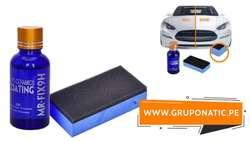 Vidrio Liquido PARA Auto Ceramica Mr Fix 9h Gruponatic San Miguel Surquillo Independencia La Molina Whatsapp 941439370