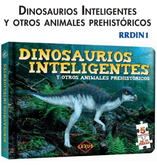 Dinosaurios Inteligemtes. Rompecabezas