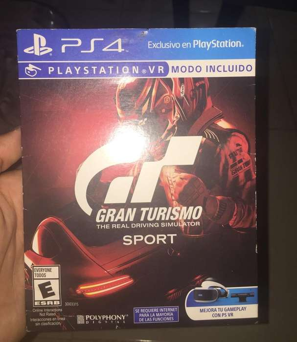 Se Vende Gran Turismo Sport