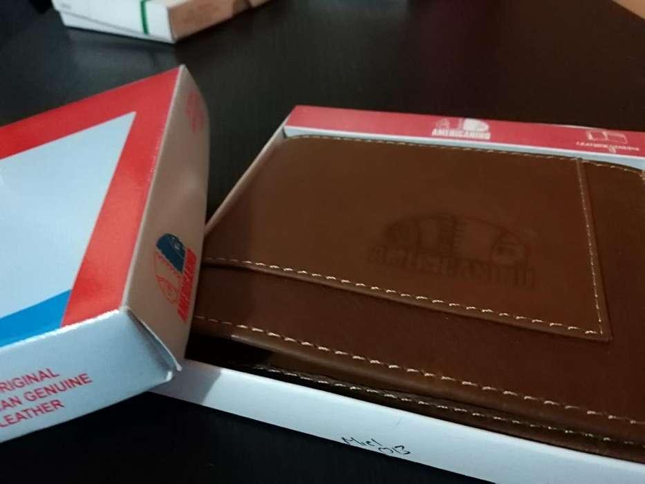 Billeteras en Caja