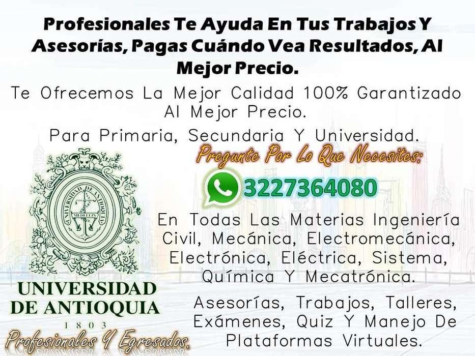 Profesionales Te Ayuda En Tus Trabajos Y Asesorías, Pagas Cuándo Vea Resultados, Al Mejor Precio.