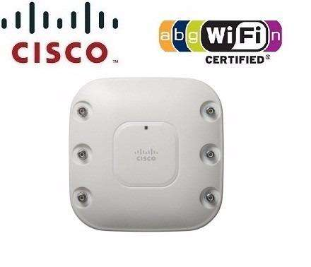 ACCESS POINT WIRELESS N CISCO AIRONET AIRAP1262NAK9 DUAL BAND 600MBPS GIGABIT SOPORTE PoE