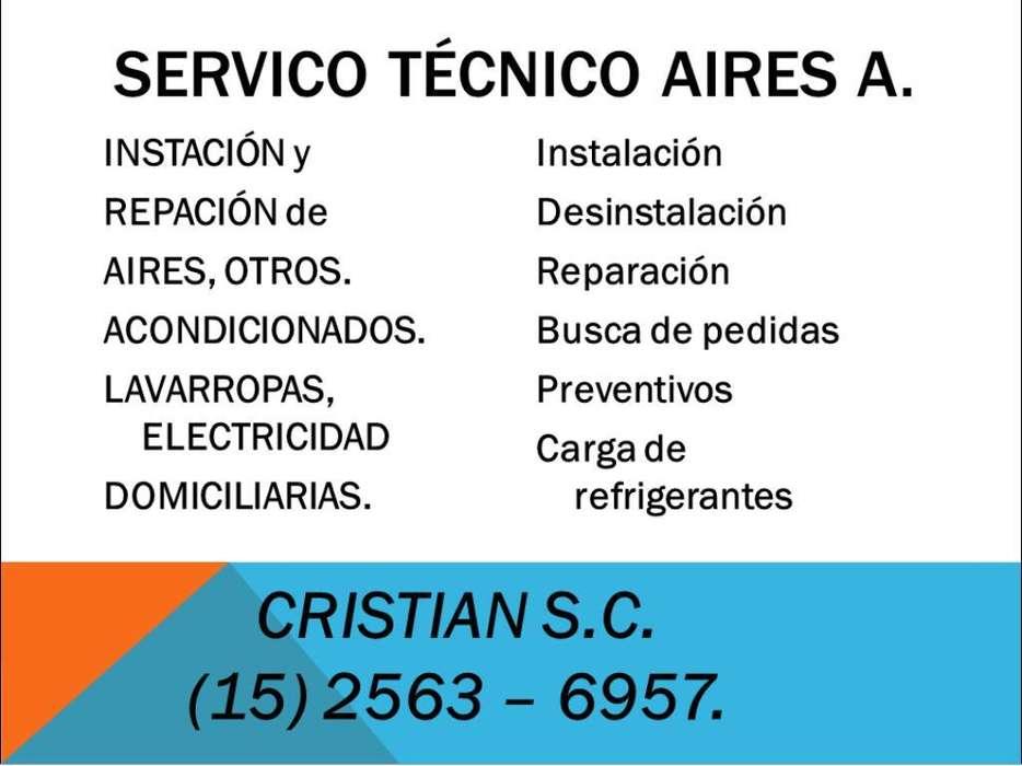 Instalacion de Aires