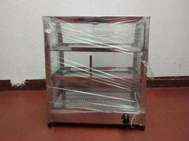 Calefactor mostrador eléctrico