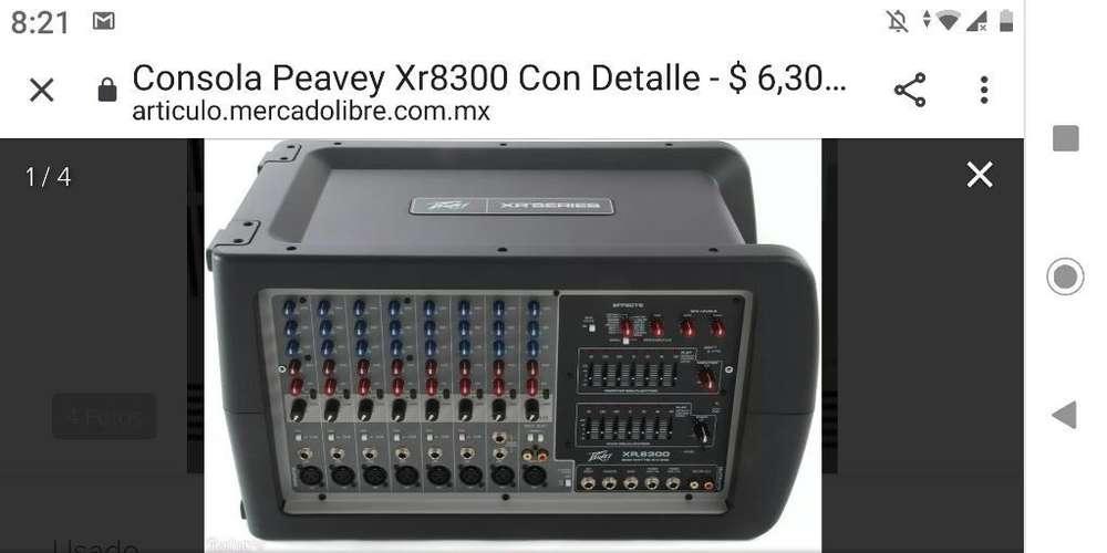 Consola Activa Xr 8300 Peavey Medellin