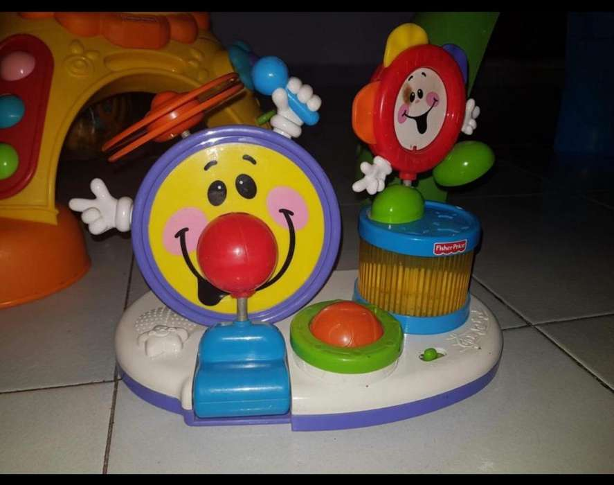 Bateria Juguete Fisher Price