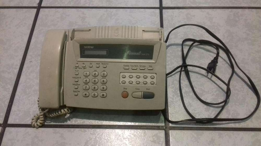 Telefono <strong>fax</strong> Brother