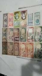 Billetes Antigüos