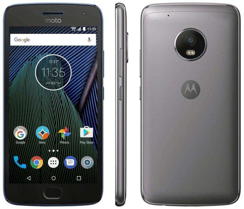 Celular Motorola G5 Plus 32GB en Perfecto Estado a 160 Color Negro con acabado Matte Negro Especial Brillante