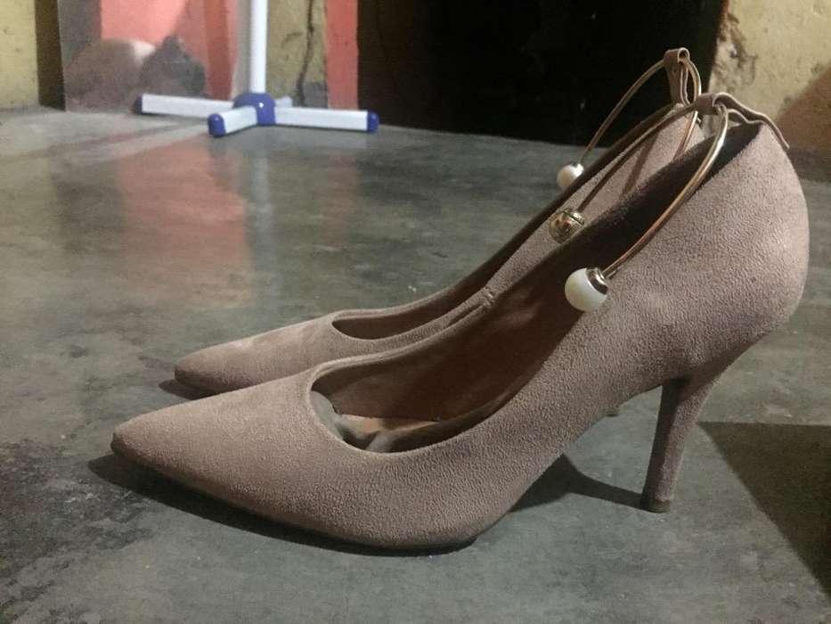Zapatos Marca Vizzano Seminuevos
