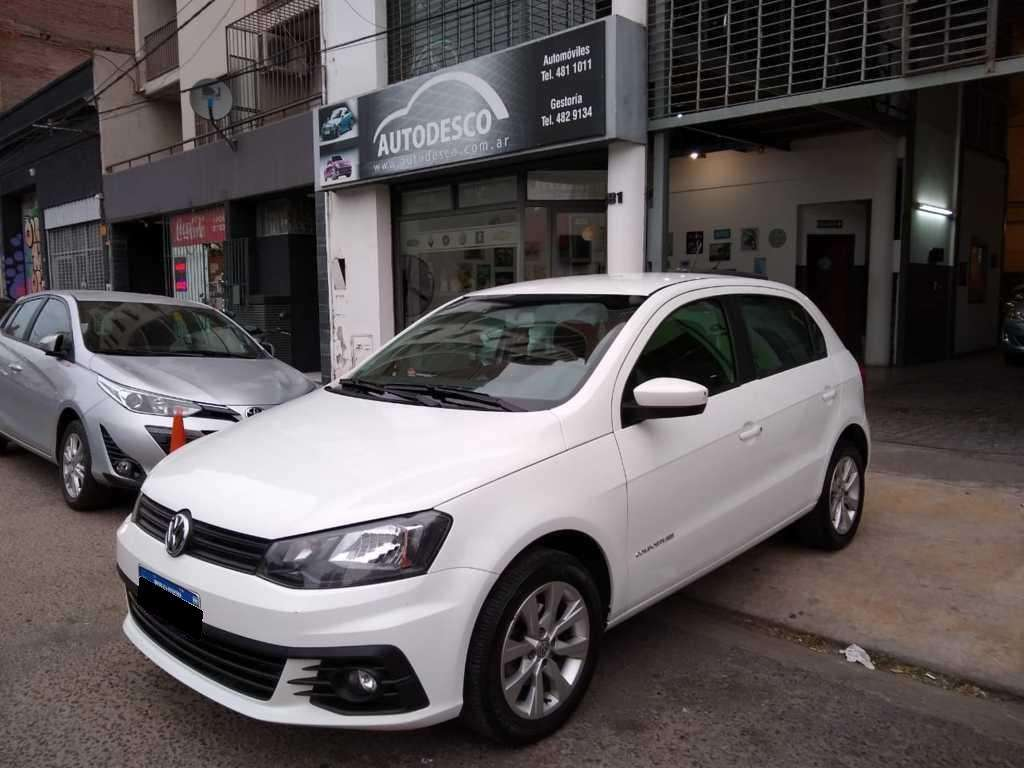 gol trend 1.6 confortline 2017 flamante estado! autodesco