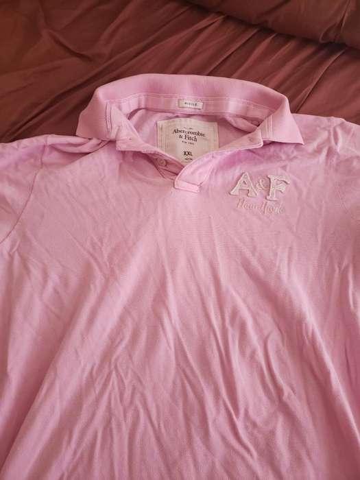 Camiseta Tipo Polo Abercrombie (usada)