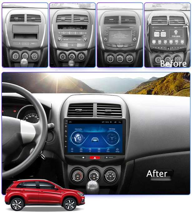 MITSUBISHI ASX 2013 2015 ANDROID AUTORADIO YOUTUBE