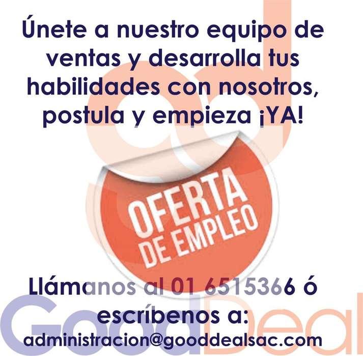 Se solicita Vendedor de Campo (80% - 20%)