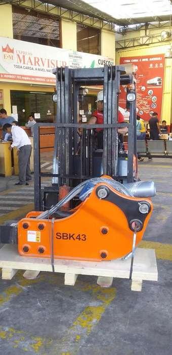 Martillo Hidraulico Pa Retroexcavadora Cat 420,CASE 580,J Deere 410JCB..