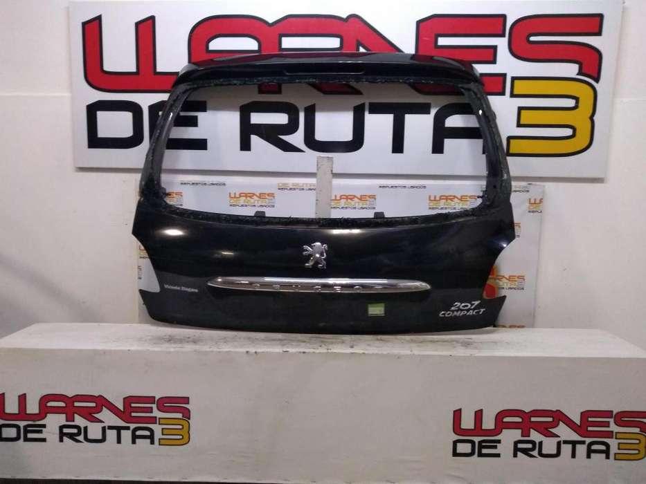 Porton Trasero Peugeot 207 02532451