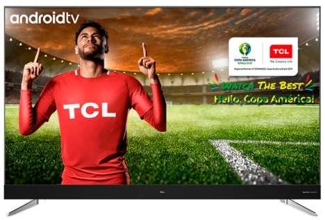 TV TCL L55C2US SMART ANDROID 4K HDR HARMAN KARDON 55
