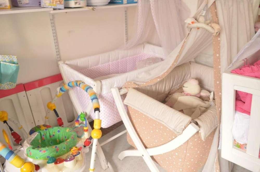 Cunas de bebé, Moisés Como nuevos! Precios bajiticos! Desde 100.000