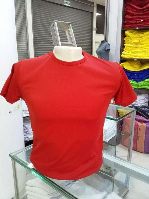 ac218047 Camisetas en Poliester Blancas y de Color cel 3123331400