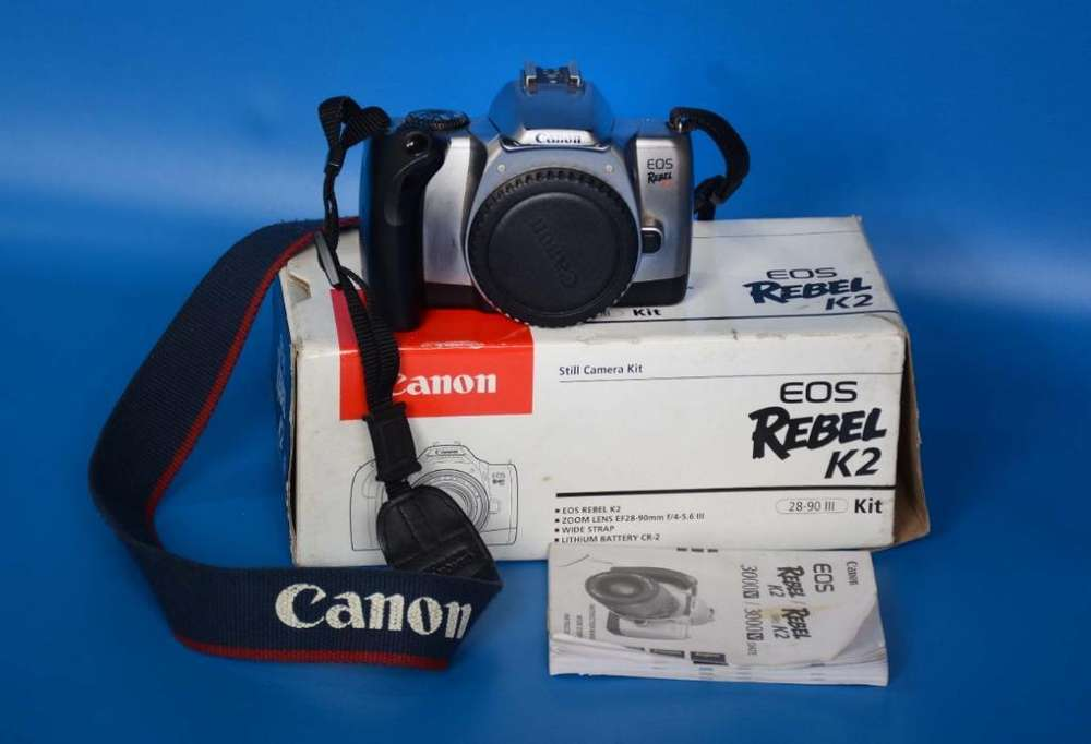 Cámara Fotográfica analoga Canon Eos Rebel K2
