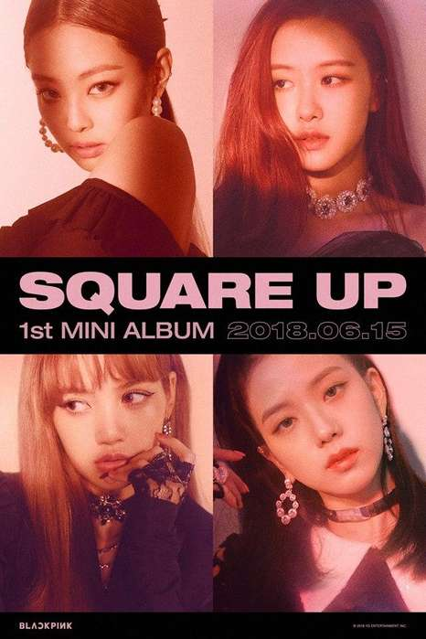 Blackpink Square Up 1st Mini Álbum