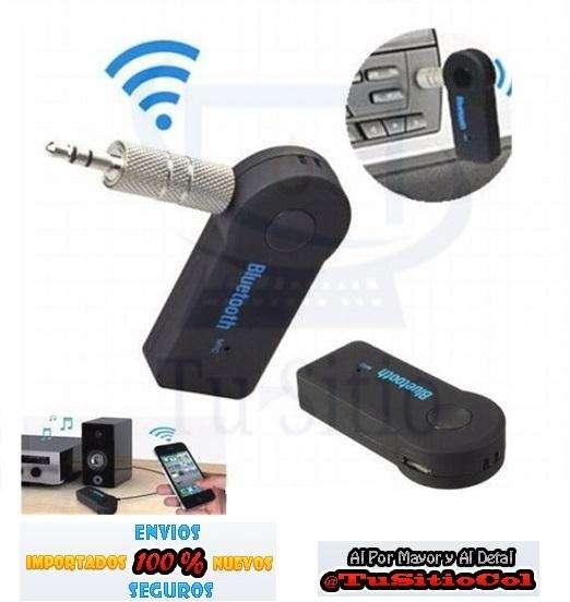 Envio Gratis Adaptador Receptor Bluetooth Música 3.5mm Aux Carro Equipo
