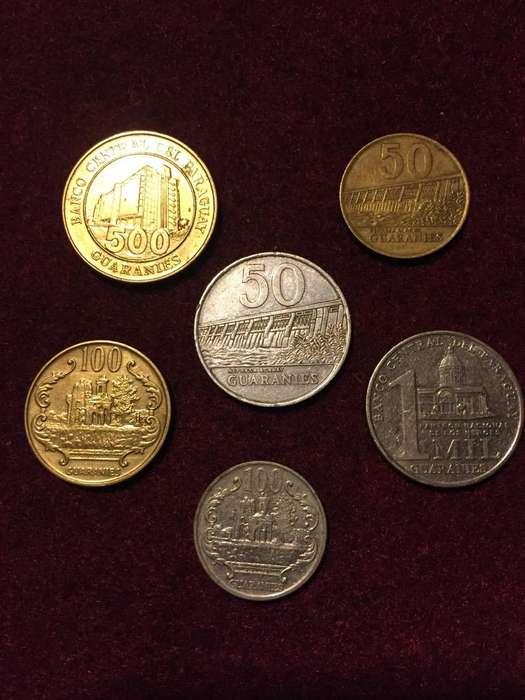 Lote de 6 Monedas de Paraguay