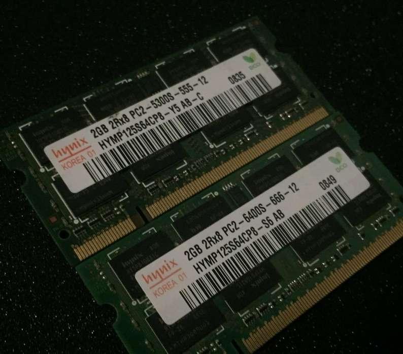 Memoria Ram Ddr2 de 2Gb para Portatil