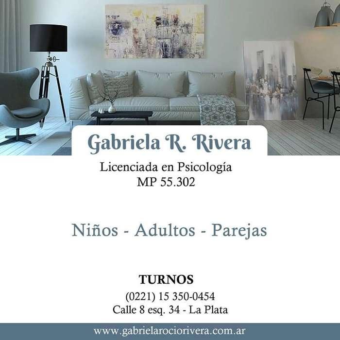 Licenciada en Psicologia - La Plata