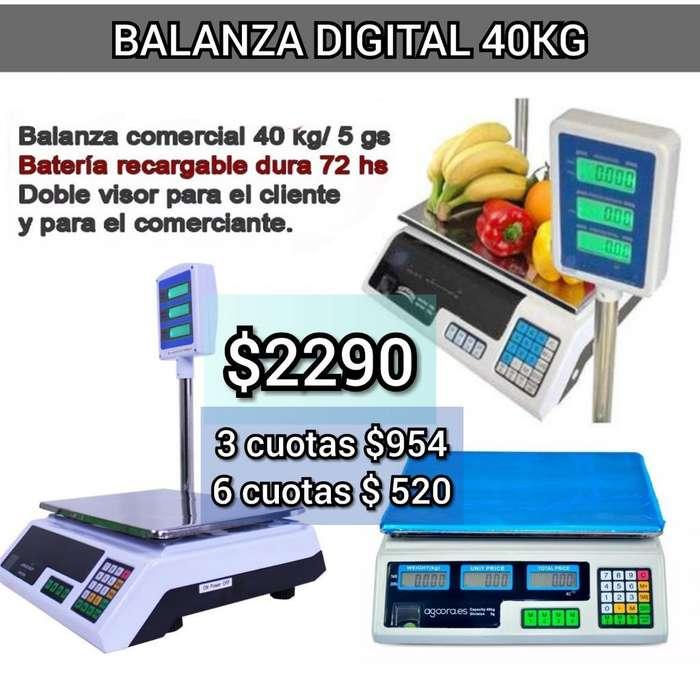 Balanza Digital