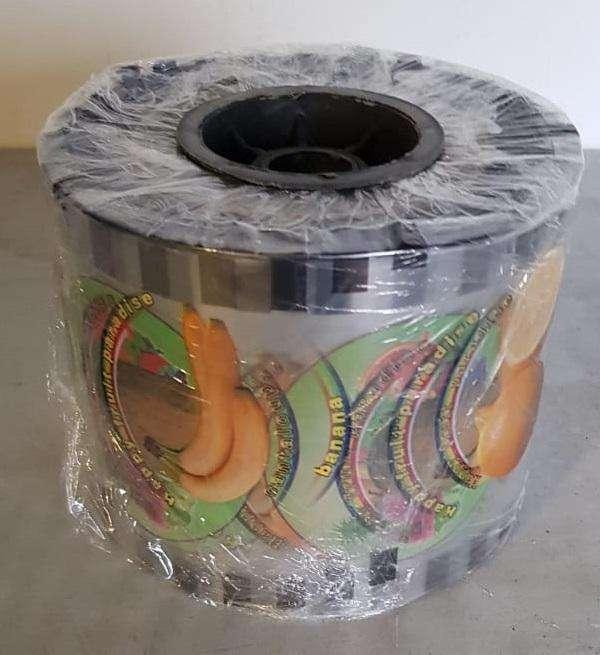 rollo para selladora de vasos