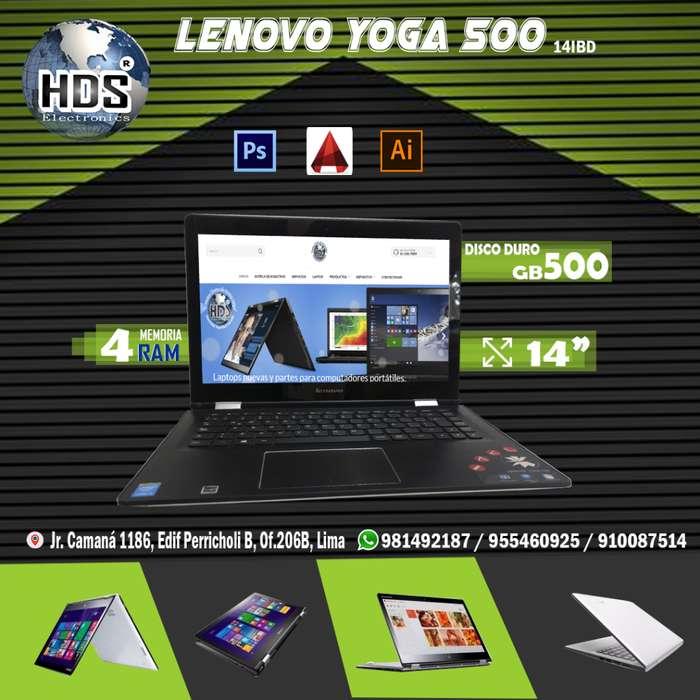 Lenovo Yoga 500-14IBD HDS SOLUCIONES