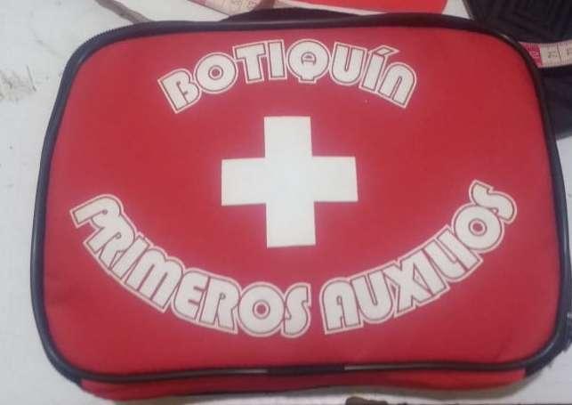 BOTIQUIN DE PRIMEROS AUXILIOS 18 PRODUCTOS AL DETAL Y POR MAYOR