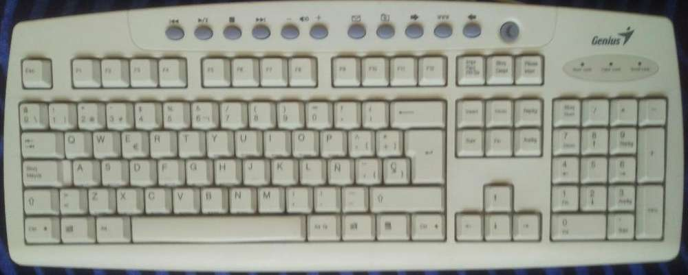Teclado para Pc Multimedia Genius
