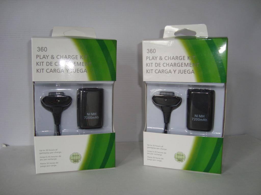 Carga y Juega para Control Xbox 360
