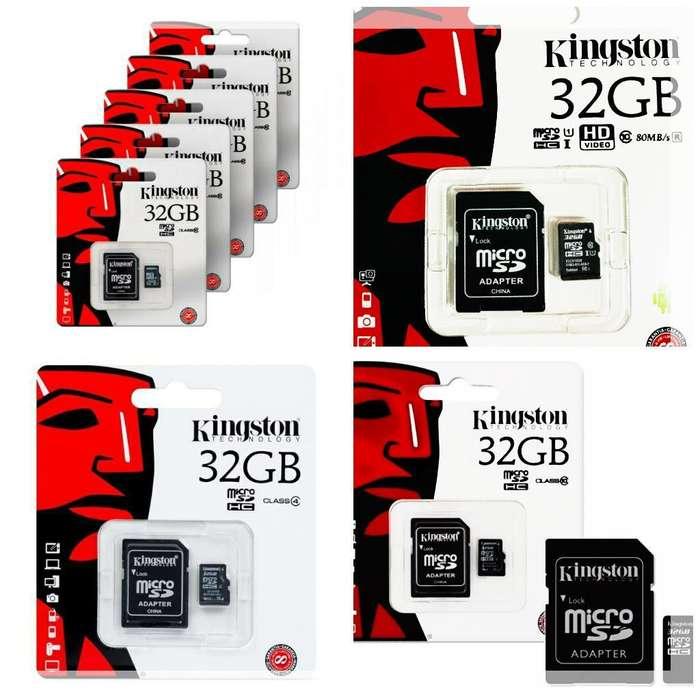 Memorias Micro Sd 32 Gb