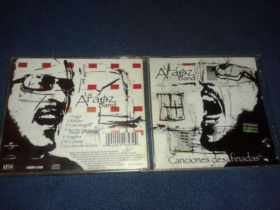 Cd Daniel Araoz Band - Canciones Desafinadas 2004 Como Nuevo - Compatriotas