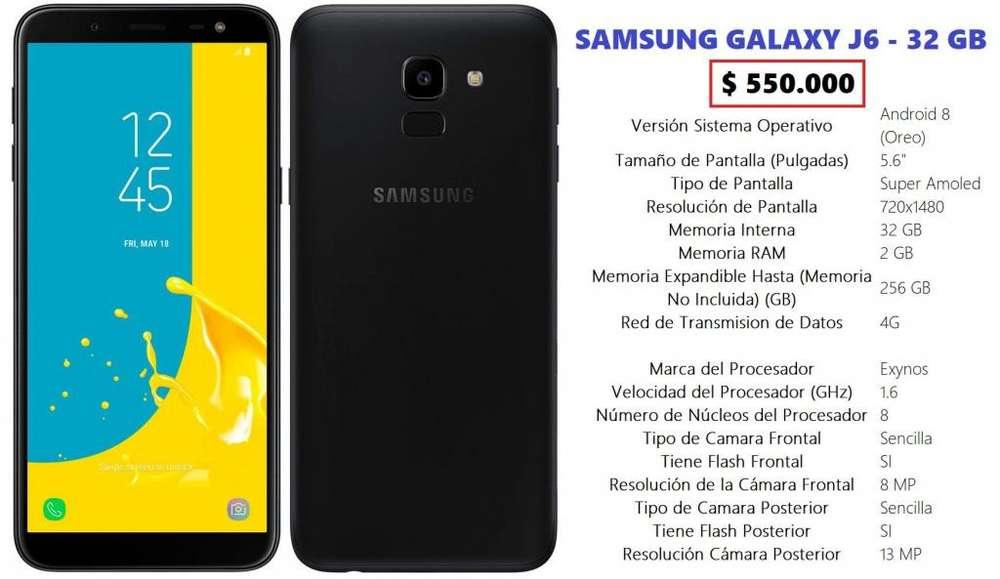 SAMSUNG GALAXY J6 - 32 GB - NUEVO!!!