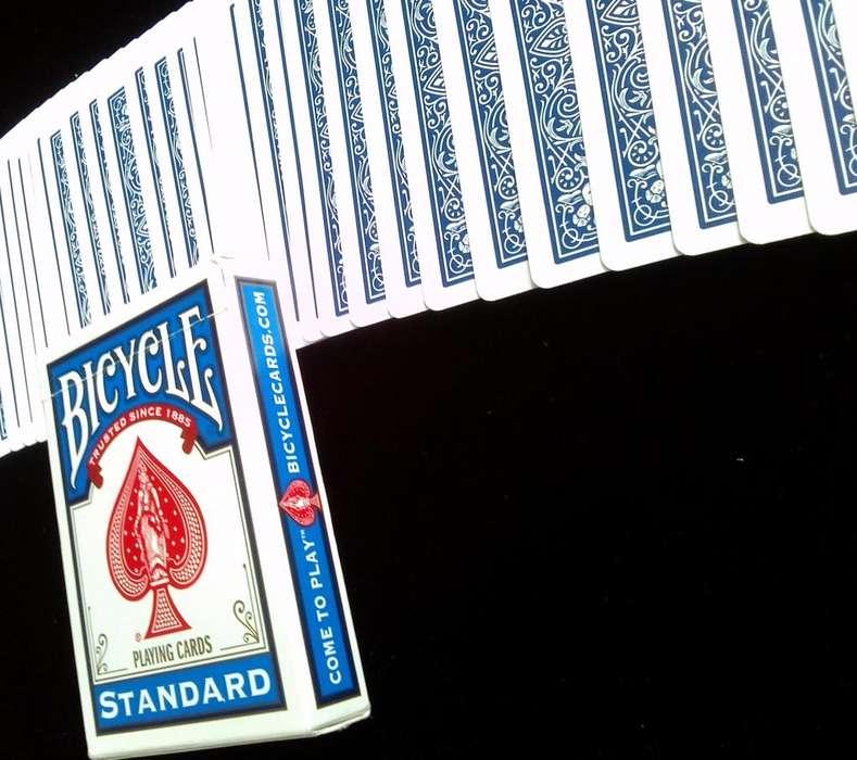 Baraja de Cartas Bicycle Standard Nuevas y Originales para Magia, Cardistry y Poker