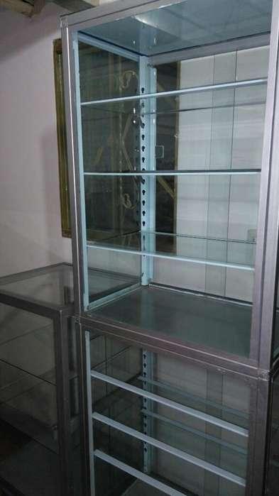 Lindas Vitrinas en Aluminio