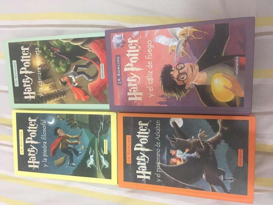 4 Libros de Harry Potter