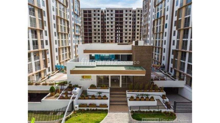 GANGAZO VENDO Apartamento en Paraiso Caribe piso 10, 2 alcobas.