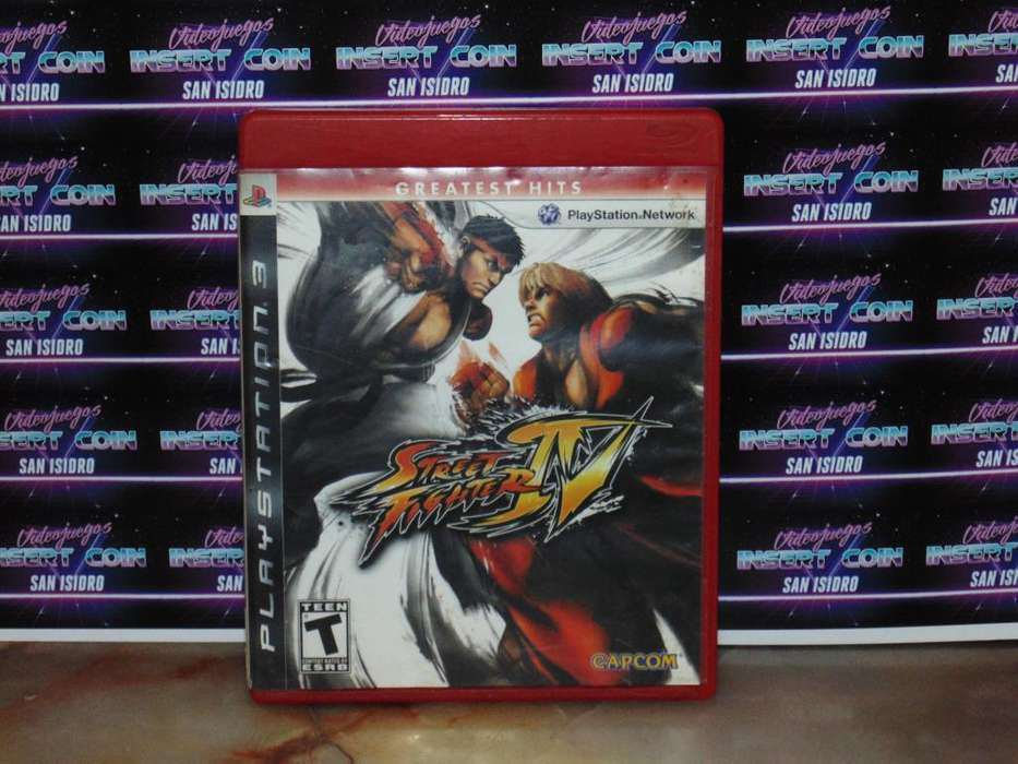 Street Figther 4 PS3 Juego <strong>play</strong> Station 3
